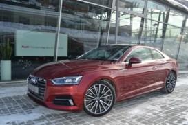 Audi A5 2017 г. (красный)