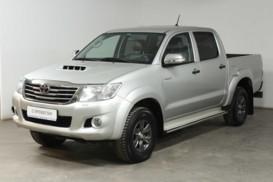 Toyota Hilux 2012 г. (серебряный)