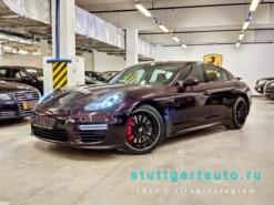 Porsche Panamera 2014 г. (фиолетовый)