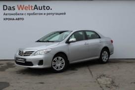 Toyota Corolla 2011 г. (серебряный)