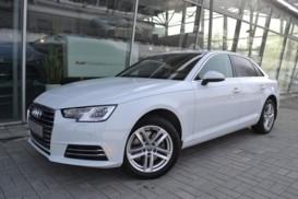 Audi A4 2016 г. (белый)