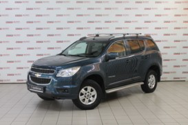 Chevrolet Trailblazer 2014 г. (синий)