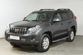 Toyota Land Cruiser Prado 2013 г. (серый)