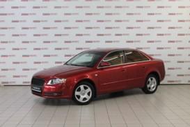 Audi A4 2006 г. (красный)