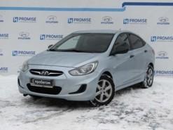 Hyundai Solaris 2011 г. (голубой)