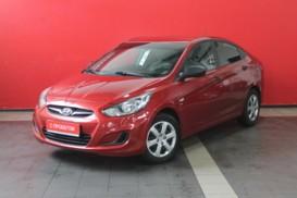 Hyundai Solaris 2012 г. (красный)