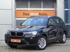 BMW X3 2016 г. (черный)