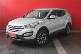 Hyundai Santa FE 2013 г. (серебряный)