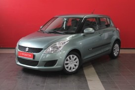 Suzuki Swift 2013 г. (зеленый)