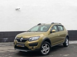 Renault Sandero 2018 г. (зеленый)