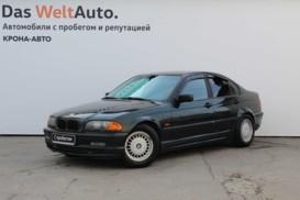 BMW 3er 2001 г. (зеленый)