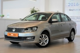 Volkswagen Polo 2018 г. (серебряный)