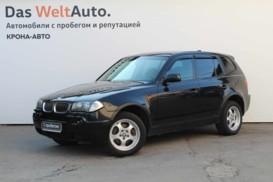 BMW X3 2005 г. (черный)