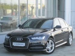 Audi A6 2015 г. (черный)