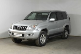 Toyota Land Cruiser Prado 2008 г. (серый)