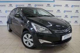 Hyundai Solaris 2016 г. (черный)