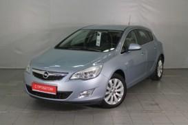 Opel Astra 2011 г. (серый)