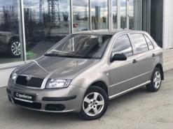 Škoda Fabia 2007 г. (серебряный)