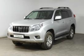Toyota Land Cruiser Prado 2013 г. (серебряный)
