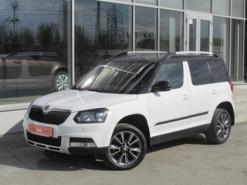 Škoda Yeti 2017 г. (белый)