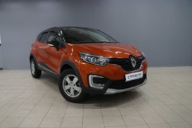 Renault Kaptur 2016 г. (оранжевый)