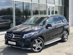 Mercedes-Benz GLE 2015 г. (черный)