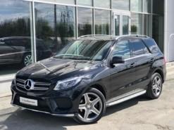Mercedes-Benz GLE 2015 г. (черный)