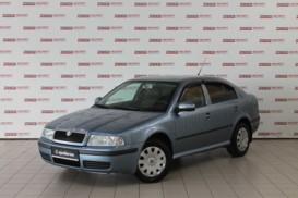 Škoda Octavia 2009 г. (голубой)