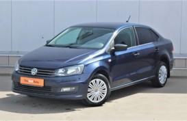Volkswagen Polo 2017 г. (синий)