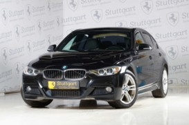 BMW 3er 2014 г. (черный)
