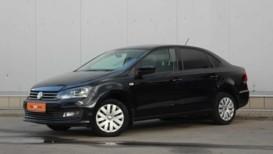 Volkswagen Polo 2016 г. (черный)