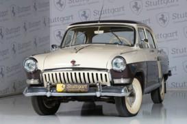ГАЗ 21 1960 г. (бежевый)