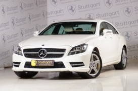Mercedes-Benz CLS 2013 г. (белый)