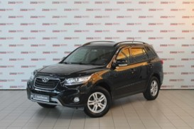 Hyundai Santa FE 2011 г. (черный)