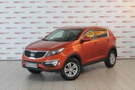 Kia Sportage 2013 г. (оранжевый)