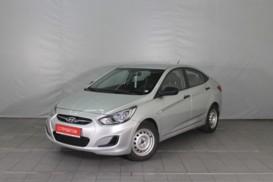 Hyundai Solaris 2013 г. (серебряный)
