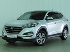 Hyundai Tucson 2016 г. (серебряный)