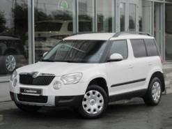 Škoda Yeti 2013 г. (белый)