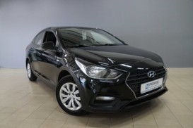 Hyundai Solaris 2017 г. (черный)