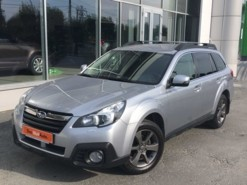 Subaru Outback 2014 г. (серебряный)