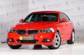 BMW 3er 2018 г. (красный)