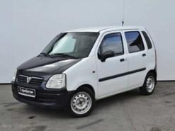 Opel Agila 2004 г. (белый)