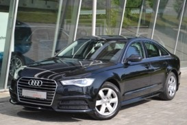 Audi A6 2016 г. (черный)