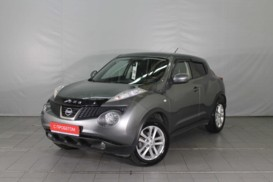 Nissan Juke 2014 г. (серый)
