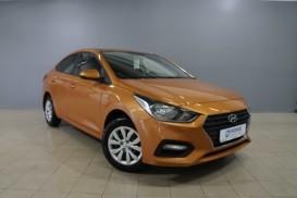 Hyundai Solaris 2018 г. (оранжевый)