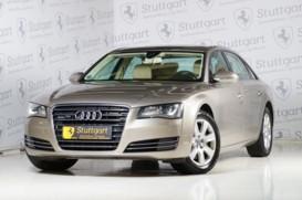 Audi A8 2013 г. (бежевый)