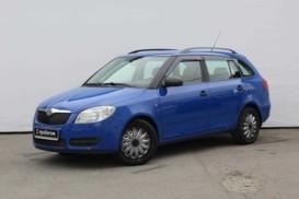 Škoda Fabia 2009 г. (синий)