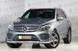 Mercedes-Benz GLE 2016 г. (серый)