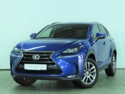 Lexus NX 2016 г. (синий)