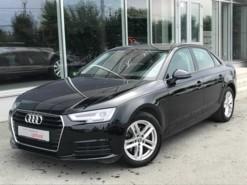 Audi A4 2018 г. (черный)